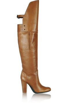 Phillip Lim leather over-the-knee boots