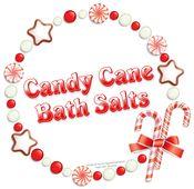 Candy Cane Bath Salts In A Jar   Organized Christmas