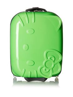 34% OFF Hello Kitty ABS Molded Luggage (lime green)