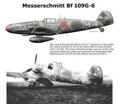 Messerschmitt Bf 109 G-6/R6 Flown by Oberfeldwebel Arnold Döring 2./JG 300. Bonn-Hangelar/Germany, November 1943.