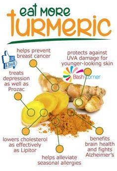 Health Benefits Of Turmeric!!!