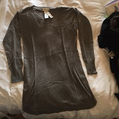Isabel Marant sweater dress grey alpaca blend Tags on never worn light soft touch- this is a size 2 (Isabel goes 1,2,3 rather than s,m,l) Isabel Marant Sweaters Crew & Scoop Necks