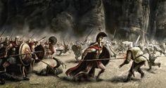 Art Wallpaper, 300 spartans, battle, war, weapons