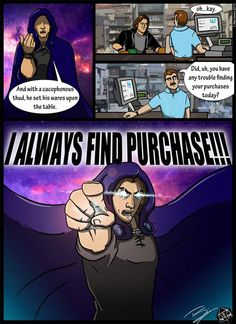 Critical Role fan comic of MattMercer by Tkm Madness