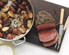 Rosemary-Garlic Roast Beef And Potatoes | 30 Easy One-Tray Oven Dinners