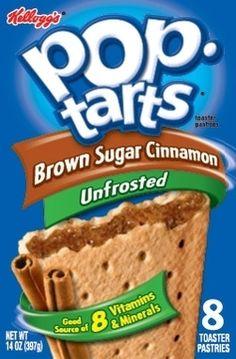 Kellogg's Pop Tarts (Unfrosted Varieties) | 13 Junk Foods You Won't Believe Are Vegan