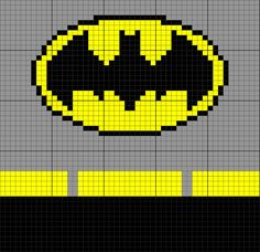 Batman Inspired Uniform 50 x 50 C2C Graph Graphgan