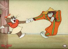 Discovered by Carol Owens. Find images and videos about gif and tom & jerry on We Heart It - the app to get lost in what you love. Tom And Jerry Pictures, Tom And Jerry Funny, Tom Et Jerry, Tom And Jerry Cartoon, Looney Tunes Cartoons, Disney Cartoons, Disney Toms, Disney Art, Tom And Jerry Wallpapers