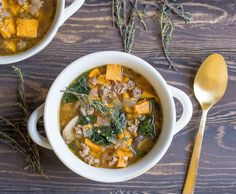 Let your Slow Cooker or Instant Pot do all the work for you in this flavorful soup packed with veggies and sausage! So easy with very little prep time. I absolutely love my Instant Pot. Do you have one yet? I use it often on super busy days when I don't have time to even... Get the Recipe
