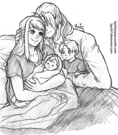 Elric family by kglittlespace