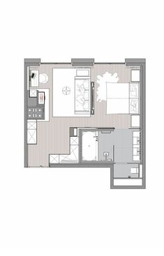 Junior Suite im Severin*s – The Alpine Retreat in Lech am Arlberg Apartment Layout, One Bedroom Apartment, Apartment Interior, Bedroom Layouts, House Layouts, Hotel Lech, Hotel Floor Plan, Small Bathroom Layout, Small House Living