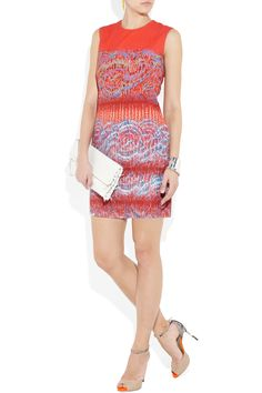 PETER PILOTTO  Stamp printed stretch-cotton dress  $970