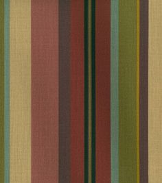 Home Decor Fabrics-Waverly Sun N Shade Sidewalk Stripe / Lacquer - Ebony: outdoor fabric: home decor fabric: fabric: Shop | Joann.com