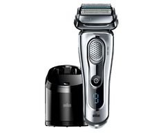Best Electric Shavers List for Men no. 1. Braun Series 9-9095cc Men's Wet/Dry Shaving and Cleaning System. Comfort, Build and Performance Second to None.