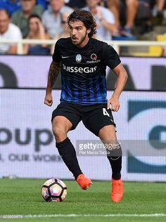 Alberto Paloschi of Atalanta BC in action during the Serie a match between Atalanta BC and FC Torino at Stadio Atleti Azzurri d'Italia on September...