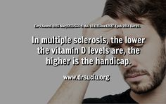 Picture Link Between Vitamin D Deficiency and Multiple sclerosis drsuciu Vitamin D Deficiency, Multiple Sclerosis, Picture Link, Vitamins, Vitamin D