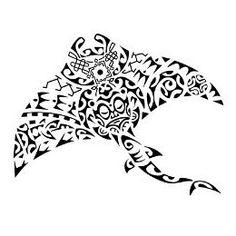 Seafarer manta ray tattoo