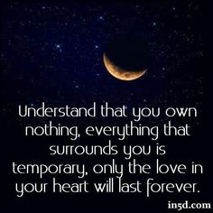 *Nothing lasts forever... Except love, love lasts forever*
