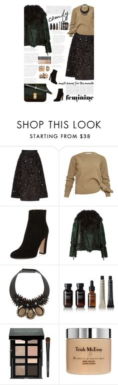 """Untitled #2457"" by amimcqueen ❤ liked on Polyvore featuring Rochas, J.W. Anderson, Gianvito Rossi, Roberto Cavalli, Marni, Grown Alchemist, Bobbi Brown Cosmetics, CÉLINE, NARS Cosmetics and Trish McEvoy"
