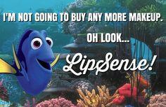 #FindingDory #LipSense #neverenoughlipsense not just any makeup, it's…