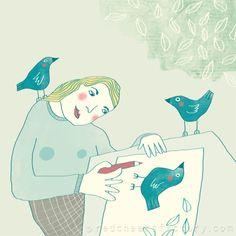 ilustración de Nelleke Verhoeff