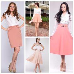 Какой цвет сочетается с персиковым в одежде?