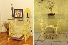 Máquina de costura antiga na decoração - BBel :: Tudo sobre decoração e organização da sua casa