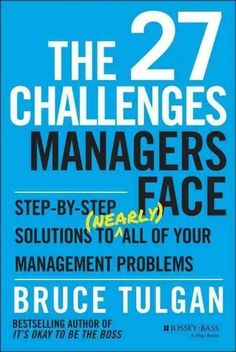 51 best receipts formulae etc images on pinterest book books the 27 challenges managers face step by step solutions to nearly fandeluxe Gallery