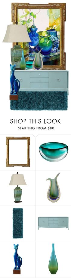 """Still Life Painting:  Daydream Cool drinks"" by ann-kelley14 on Polyvore featuring interior, interiors, interior design, home, home decor, interior decorating, Cyan Design, Universal Lighting and Decor, Murano and Redford House"