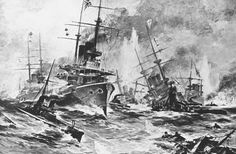May 27,  1905: BATTLE OF TSUSHIMA STRAIT BEGINS  -  The Battle of Tsushima Strait, a major naval battle between Russia and Japan during the Russo-Japanese War, begins. The Russian Baltic Fleet was nearly destroyed in the battle.