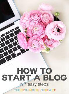 I have put together a list of information, sharing with you How to start a Blog and lessons I have learnt along the way. I hope my tips help you create a successful blog.