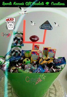 Sports & gift basket for boys