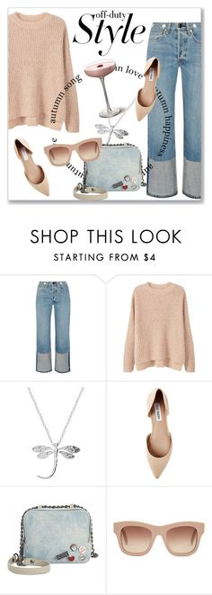 """""""How to Rock Off-Duty Model Style"""" by andrejae ❤ liked on Polyvore featuring rag & bone, MANGO, Steve Madden, Circus By Sam Edelman, STELLA McCARTNEY and offduty"""