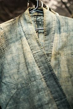 sashiko mended garment