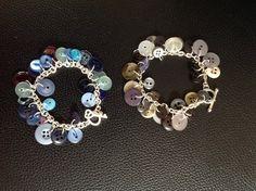 Button bracelets ....just choose a colour scheme !