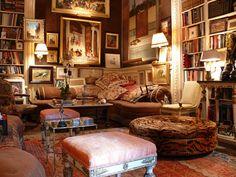 mark birley interiors | Un appartement de collectionneur à New York - Le blog de haute ...