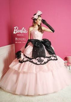 barbieのdress👗❤️ Barbie Bridal, Barbie Wedding Dress, Barbie Gowns, Sexy Wedding Dresses, Barbie Dress, Wedding Gowns, Prom Dresses, Moda Lolita, Quinceanera Dresses