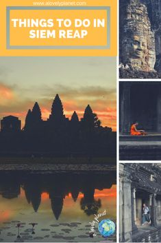 A guide to the top things to do in Siem Reap, Cambodia. Includes which temples to visit, where to eat, accommodation, shopping, activities and more. #SiemReap #Cambodia #ThingsToDoInSiemReap #AngkorWat #Angkor #Temples #Cambodian #SiemReapCambodia