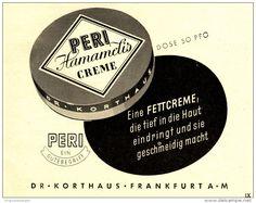 Original-Werbung/ Anzeige 1941 - PERI HAMAMELIS CREME / DR. KORTHAUS - FRANKFURT - ca. 140 x 110 mm