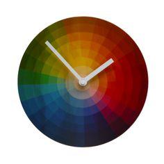 Objectify Colour Wheel Clock