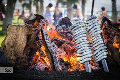 'Espetos' of sardines by Javier Cazorla Arrabal on 500px