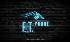 E.T. Phone Home Neon Sign
