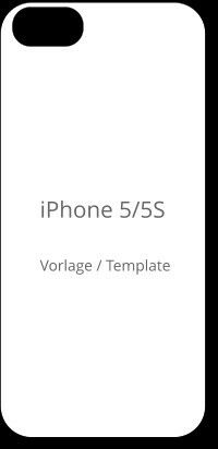 Iphone 5 Vorlage