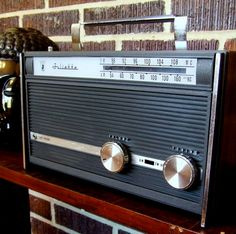 vintage am/fm juliette radio by monkandrowe on Etsy, $28.50