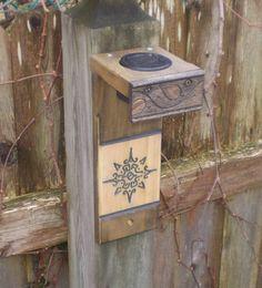 Solar Accent Lights  -  For Gardens, Decks, Pools, Patios - Mayan Sun. $19.95, via Etsy.