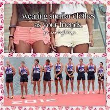 rowing crew...