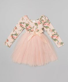 Garden party princesses will delight in this frock's fresh floral print and twirl-able tutu skirt. The bodice's stretchy cotton blend makes it wonderfully comfy, and the skirt's soft tulle layers add extra fabulousness to every move.   This product cannot be shipped to New York or Wisconsin