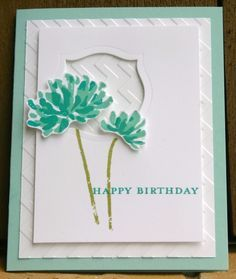 Stampin Up Too Kind Happy Birthday 1