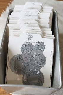 #papercraft #crafting supply #organization: Dies  by Papertopia