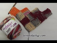 Tunesisch Häkeln - Entrelac rechts links - Tuch TRENI - Woolly Hugs BANDY Veronika Hug - YouTube - #BANDY #Entrelac #häkeln #Hug #Hugs #links #rechts #TRENI #Tuch #tunesisch #Veronika #Woolly #YouTube C2c Crochet Blanket, Tunisian Crochet Patterns, Filet Crochet, Crochet Motif, Crochet Shawl, Crochet Stitches, Knitting Patterns, Knit Crochet, Knitting Videos